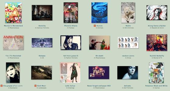 deviant art sell art online